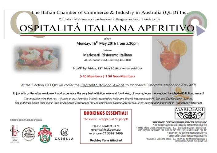 Ospitalità Italiana Aperitivo